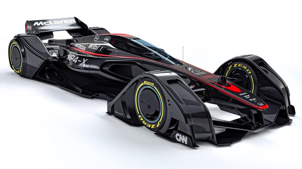 Команда McLaren придумала управляемый мозгом болид