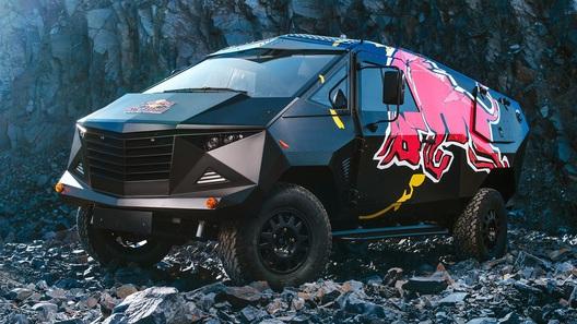 Red Bull построил внедорожник для экстремальных вечеринок