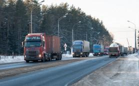 Дальнобойщики стали собираться в колонны после послания Путина
