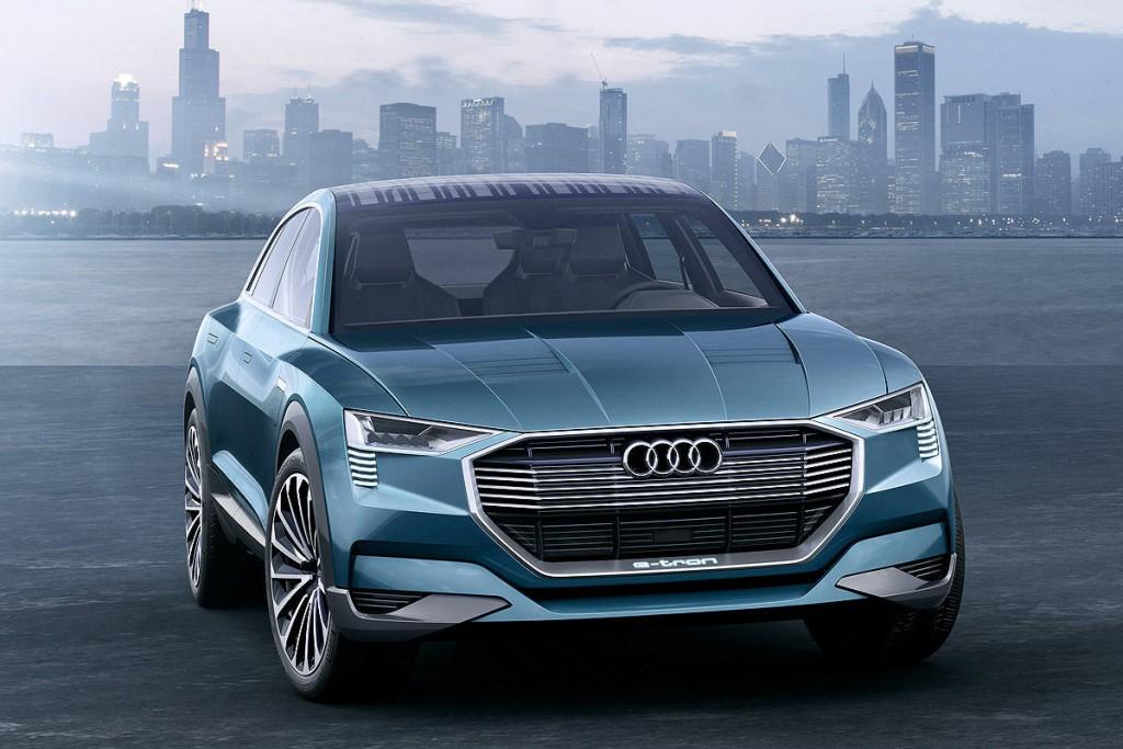 Кроссовер Audi на водороде: первые подробности
