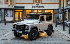 Уникальный Land Rover Defender ушел с молотка за рекордную сумму