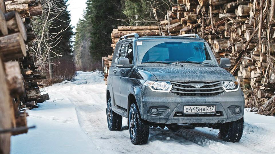 «УАЗ» модернизирует внедорожники Patriot и Hunter