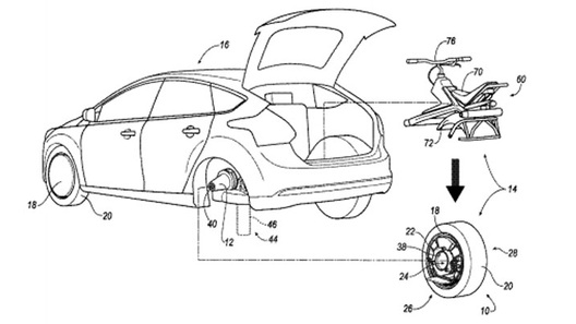 Ford предложит застрявшим в пробках прокатиться на одном колесе