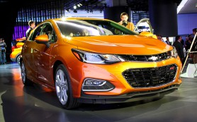 Новый хэтчбек Chevrolet Cruze получит «горячую» версию