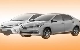 Toyota запатентовала дизайн обновленной «Короллы»