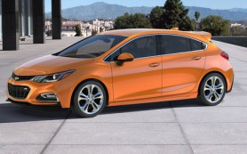 Chevrolet рассекретил новый хэтчбек Cruze до премьеры
