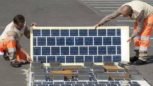 Французские дороги покроют солнечными батареями