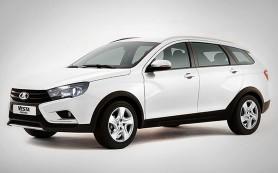 В Сети появился снимок серийного универсала Lada Vesta Cross