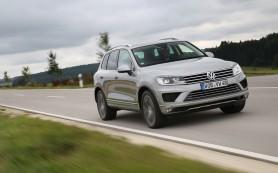 Volkswagen Touareg: у россиян не хватает денег на V8