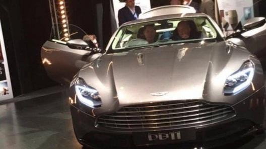 Aston Martin DB11 случайно рассекретили задолго до премьеры