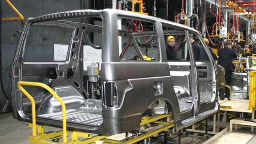 УАЗ повысил качество изготовления кузовов