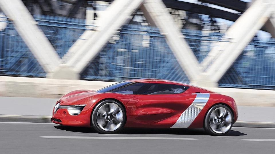 Renault покажет дизайн новых моделей на концептуальном спорткаре