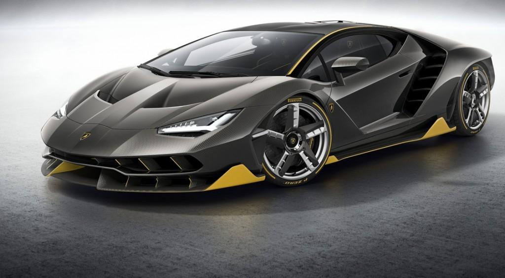 Lamborghini привез в Женеву юбилейный спорткар в честь основателя фирмы