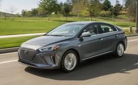 Hyundai привезла в Нью-Йорк «зеленое трио» Ioniq