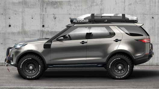 Новый Land Rover Discovery получит экстремальную модификацию