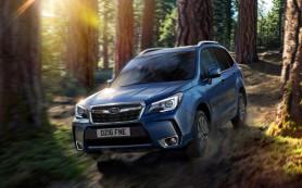 Subaru показала обновленный Forester для европейского рынка