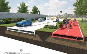 Росавтодору предложили заменить асфальт пластиком