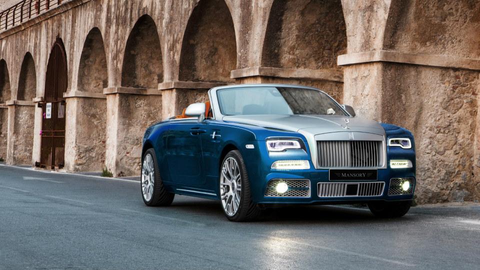 Немцы подготовили первый тюнинг для Rolls-Royce Dawn