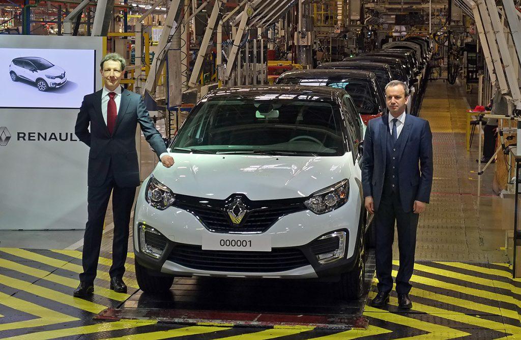 Кроссовер Renault для России: производство началось