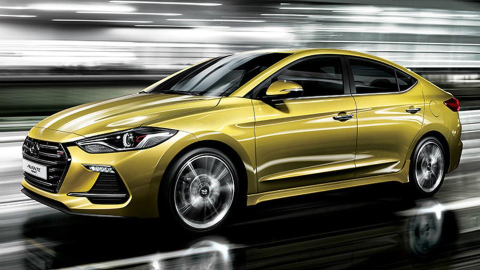 Компания Hyundai «зарядила» седан Elantra