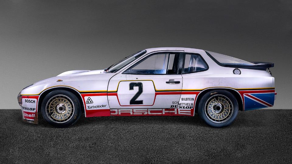 Porsche покажет процесс реставрации 36-летнего гоночного купе