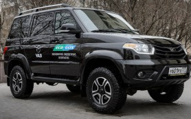 УАЗ представил «Патриота» с двигателем на метане