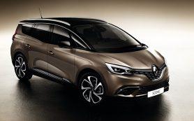Новый Renault Grand Scenic стал родственником кроссоверу Kadjar