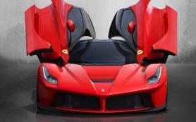 Сверхдорогой Ferrari без крыши показали избранным