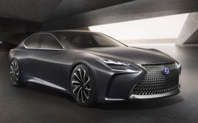 Lexus обновит флагманскую модель уже через полгода
