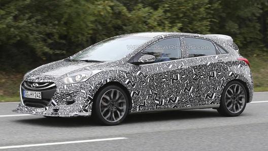 Заряженный Hyundai i30 вышел на тесты