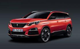 Компания Peugeot превратит минивэн 5008 в кроссовер