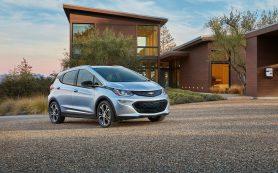 Электрокар Chevrolet Bolt станет беспилотным такси