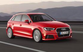 Названы рублевые цены на обновленное семейство Audi A3