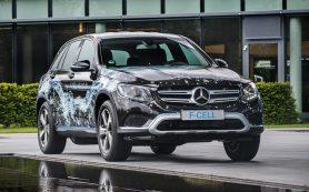 Mercedes-Benz рассекретил водородный кроссовер