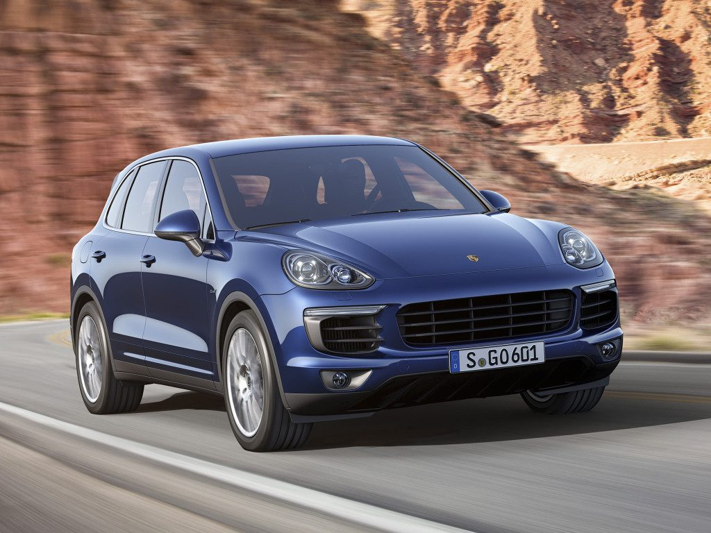 В России отзовут Porsche Cayenne из-за проблем с тормозами