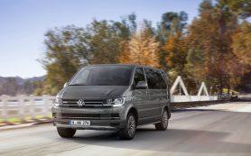 Volkswagen объявил российский отзыв Multivan и Transporter