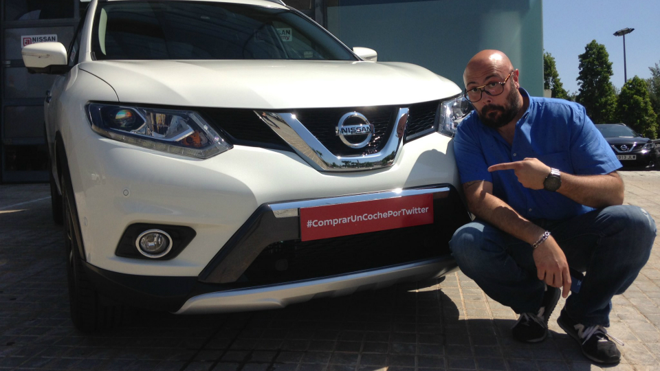 Испанский дилер Nissan продал машину через Twitter