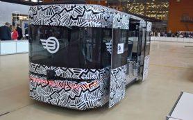 В России создан первый беспилотный автобус