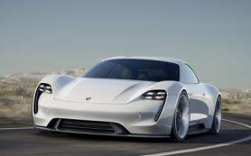 Porsche выпустит электрический спорткар еще до конца десятилетия