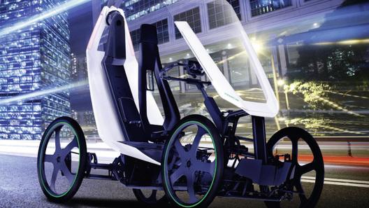 Гибрид велосипеда и электромобиля создали в США