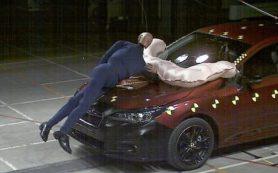 Новую Subaru Impreza оснастят подушкой безопасности для пешеходов