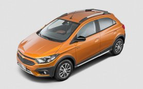 Chevrolet представила вседорожный хэтч для Бразилии