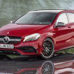 Хэтчбек Mercedes получит 400 лошадей и коробку передач, как у грузовика