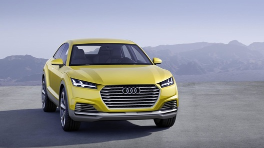 Audi выпустит компактный кроссовер в стиле купе ТТ