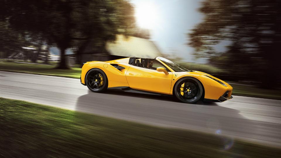 Тюнеры сделали родстер Ferrari 488 Spider мощнее и быстрее