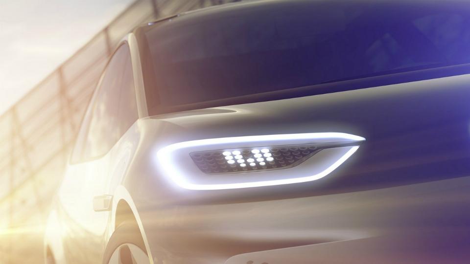 Volkswagen показал дизайн прототипа нового электрокара