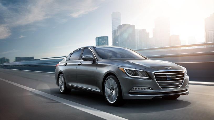 Hyundai представила в России люксовый бренд Genesis
