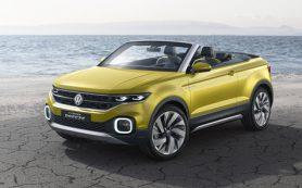 Volkswagen выпустит новый кроссовер-кабриолет