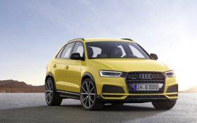 Обновленный Audi Q3: объявлены сроки начала продаж