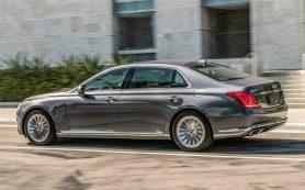 Объявлены рублевые цены на седан премиального бренда Hyundai